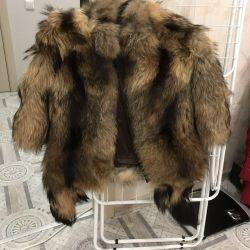 NEW Coat Raccoon