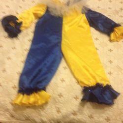 New Year's clown costume
