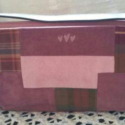 Combined micro-velvet bag