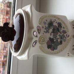 TeaFreeze için Seramik Çay Tenekesi