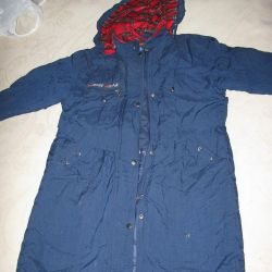 Warm SELA coat for school