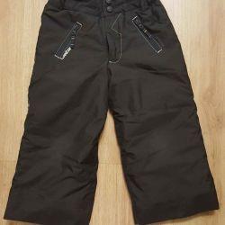 зимние брюки 98