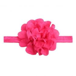 Noua gumă pentru cap. Flori.