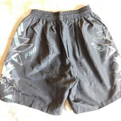 Shorts on a teenager black