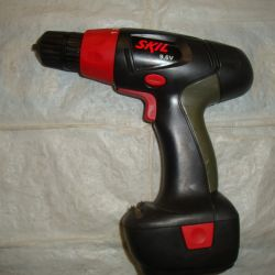 Cordless drill SKIL 2201 - without spare parts