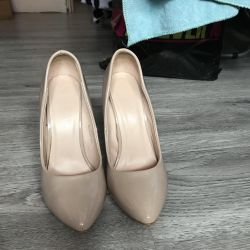 New leather shoes Italy