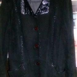 Jachetă din piele, piele de căprioară