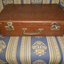 Suitcase with corners