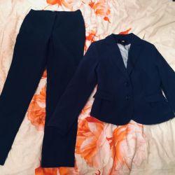 Suit. Pants, jacket. S-xs.new. Brand.