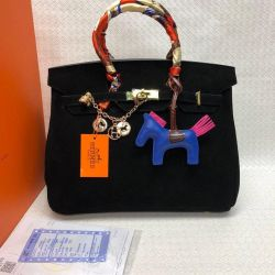 Hermes Suede Bag luxury many colors