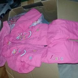 Jacket and pants for girls