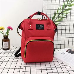 Bag - women's backpack for mothers Red, new