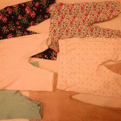 Pantaloni și pantaloni scurți 80, 86 (toate pentru 150 de ruble)