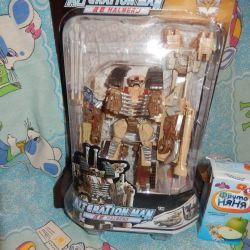 Robot Transformer Tank