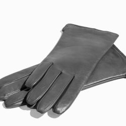 New women's gloves, natural leather.