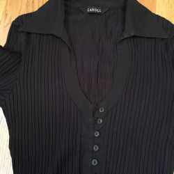 Shirt with neckline France S-M size