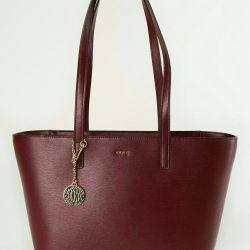 100% Deri çantalar DKNY