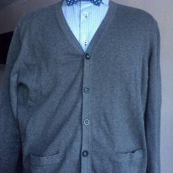 Cardigan for men. (Wool)
