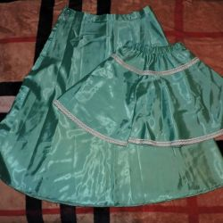 Mom-daughter new skirts