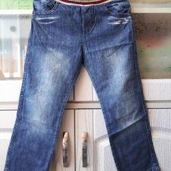 Фирменные джинсы мальчику рост 110+