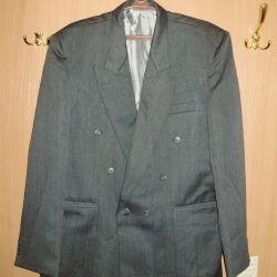 costum (nou) rr 52-54 înălțime de la 170