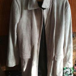 Suede παλτό