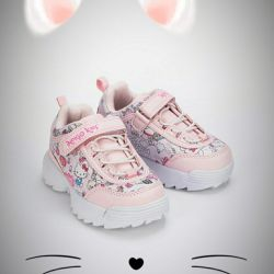 Sneakers for the baby