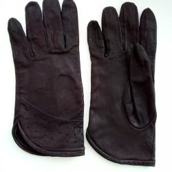 Gloves from the 90s of the last century, leather