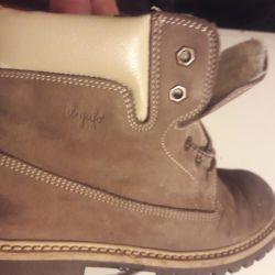 Ботинки il'gufo зима на шнурках натурал 33 раз