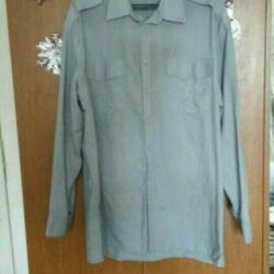 Gray shirt, cotton