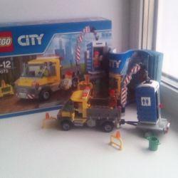 Tasarımcı LEGO şehir otomobili teknik ticaret
