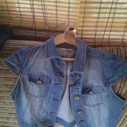 Jacheta din denim pentru femei