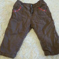 İlkbahar 6-9 ay arası pantolon.