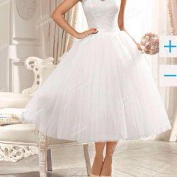 Midi rochie de nunta