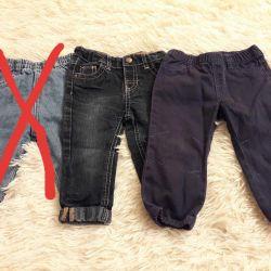 Штаны и джинсы детские