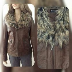 Genuine leather. Jacket