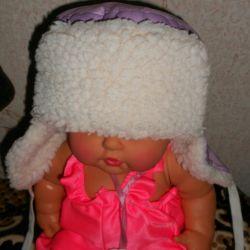 Pălărie pentru copii ushanka