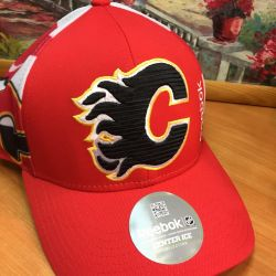 Baseball cap NHL Calgary Flames new.Original