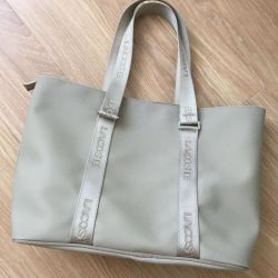Lacoste orijinal çantası