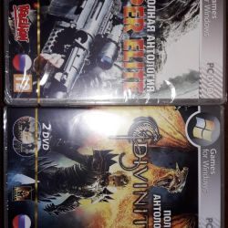 Disks with games.