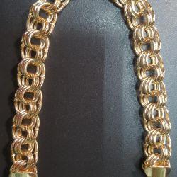 Gold Bismarck Triple Bracelet