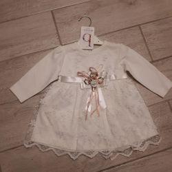Детское Платье нарядное для малышки