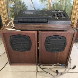 Magnetofonul Vilma 311 cu sistem de difuzoare