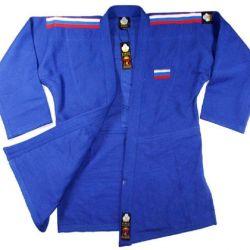 Judo için Kimono Firuz Standart