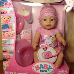 Interactive Baby Born Doll original