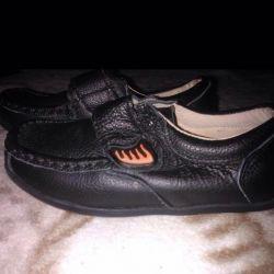 Bir erkek için ayakkabı