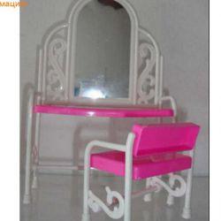 Мебель Барби, туалетный столик, новый!