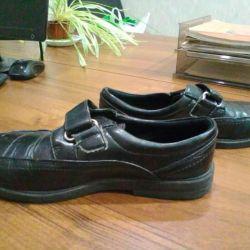 Туфлі - черевики шкіряні, р. 35