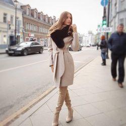 Παλτό με γούνα