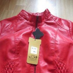 Ecological leather jacket p 46 new